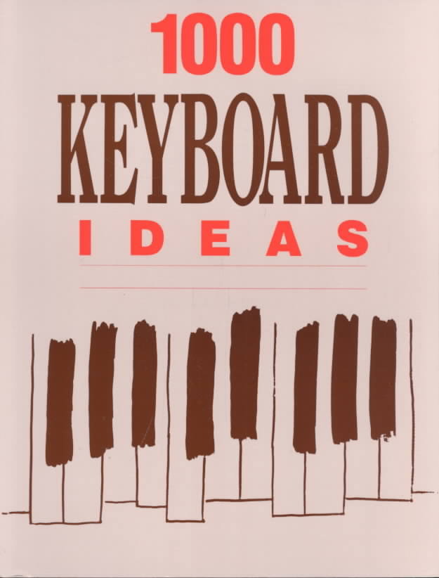 1,000 Keyboard Ideas By Herder, Ronald
